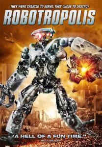 copertina dvd Robotropolis