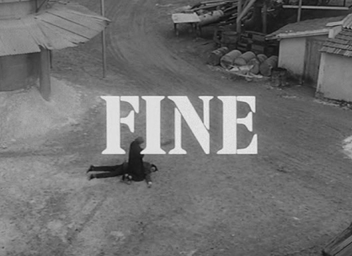 scritta Fine (The End)