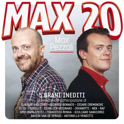 Max Pezzali - Max 20 (copertina)