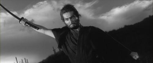 Tatsuya Nakadai in una scena del film Harakiri