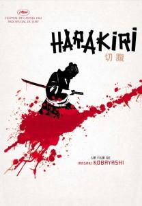 locandina originale di Harakiri (1962)