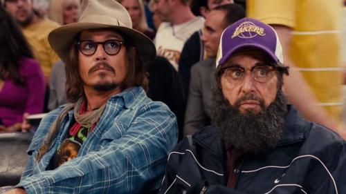 Jack e Jill: Al Pacino e Johnny Depp