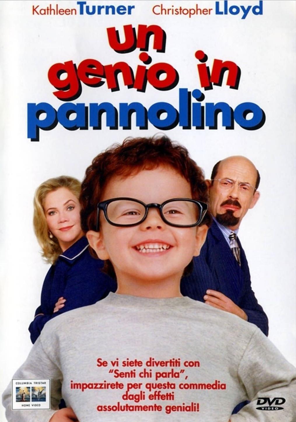 Baby geniuses - Un genio in pannolino, locandina del film