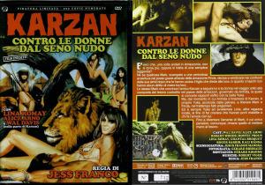 Karzan contro le donne dal seno nudo di Jesus Franco: cover dvd