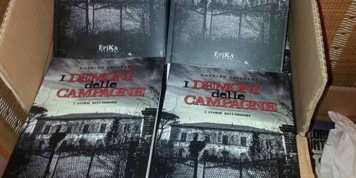 i demoni delle campagne - 3 storie dell'orrore. un libro di martino savorani