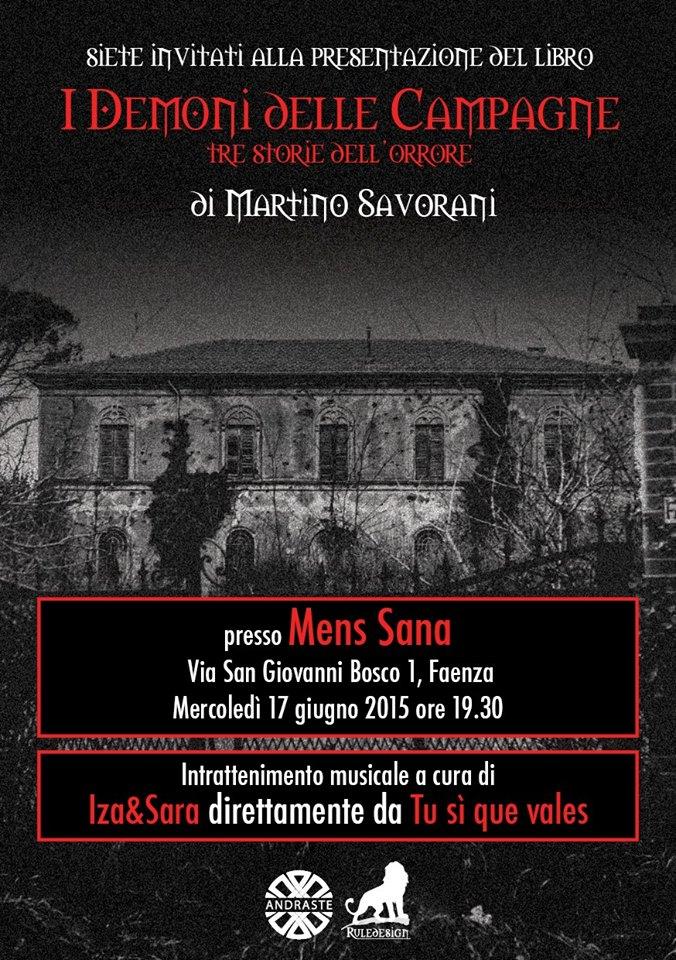 I demoni delle campagne a Faenza