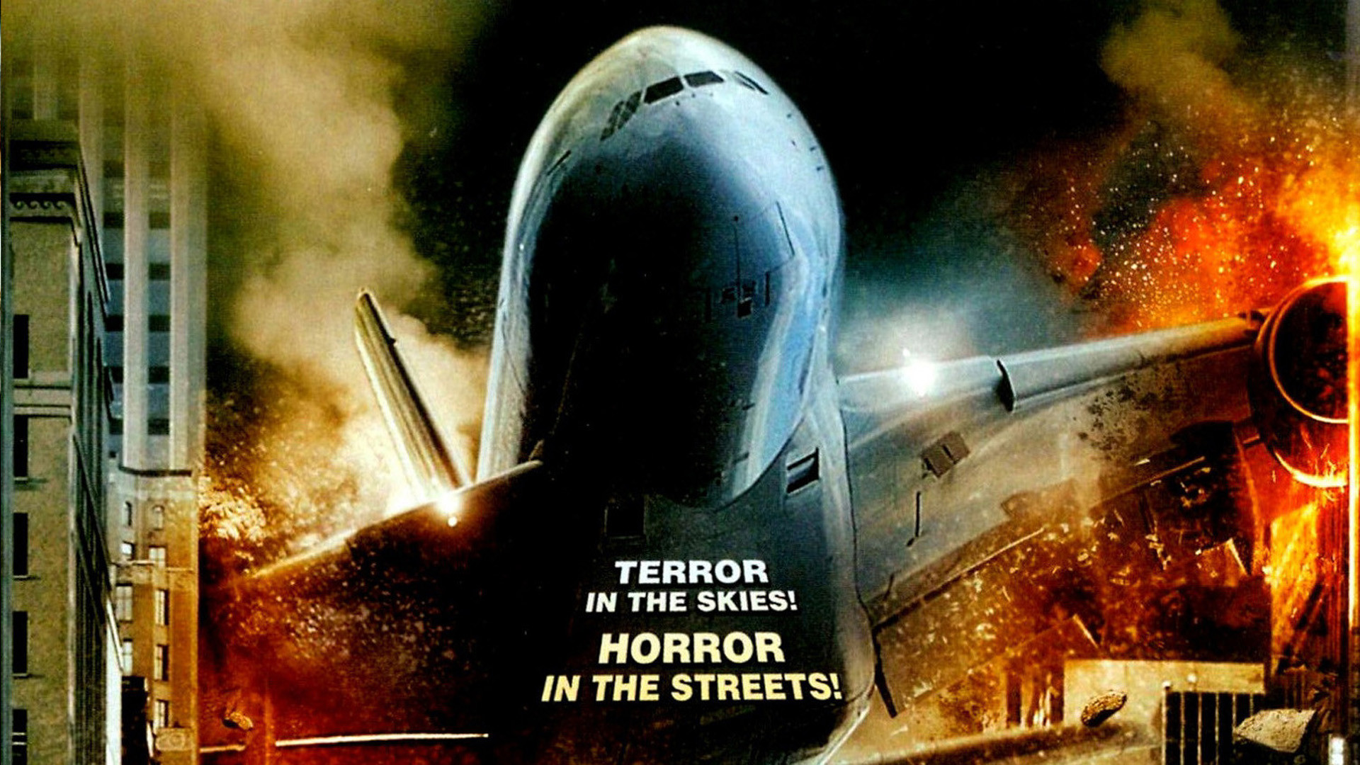 Airline disaster - horror in the skies, terror in the streets