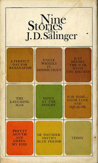J. D. Salinger - Nove racconti copertina edizione inglese
