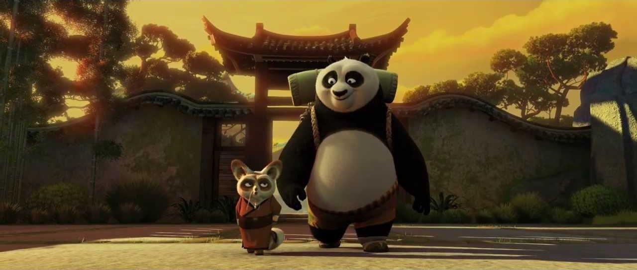 Kung Fu Panda: Po e Shifu