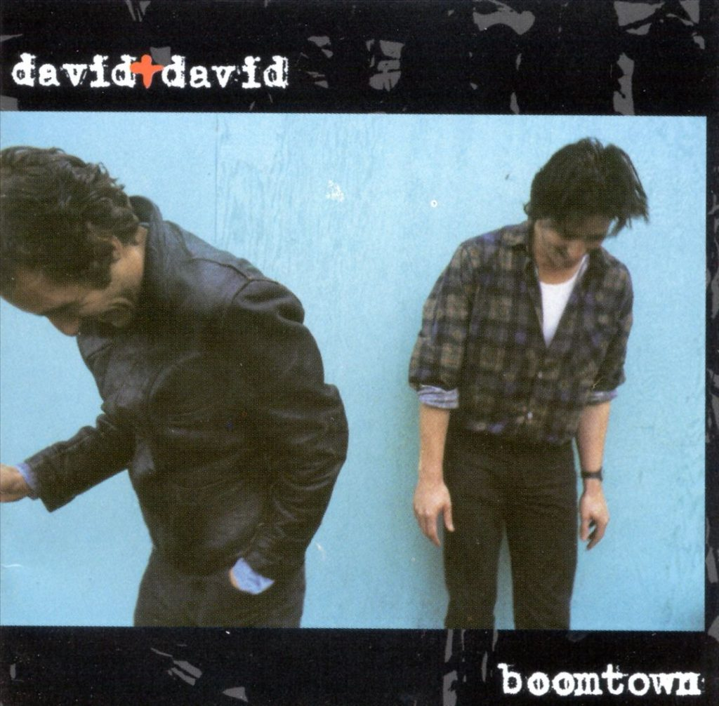 david + david - boomtown (album cover)