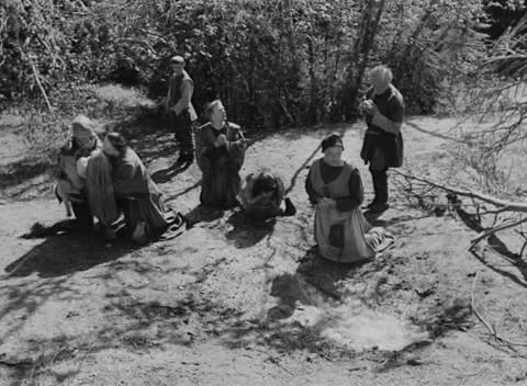 La fontana della vergine di Bergman, scena finale