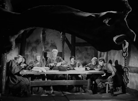 La fontana della vergine: scena simile all'Ultima cena di Leonardo