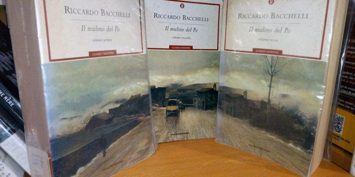 Il mulino del Po - Riccardo Bacchelli, Mondadori, 3 volumi
