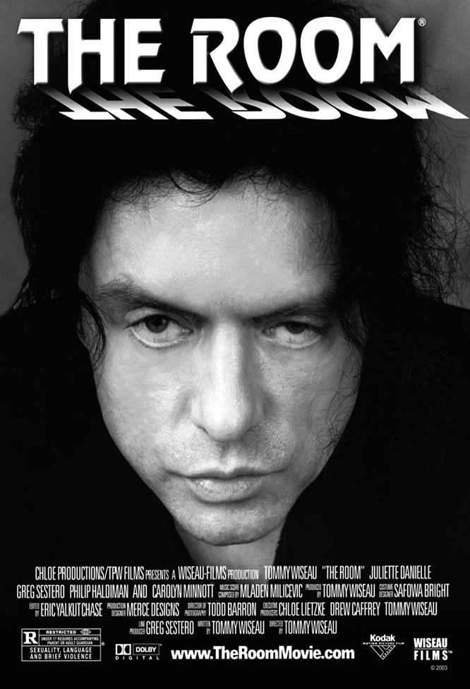 la locandina del film The Room di Tommy Wiseau